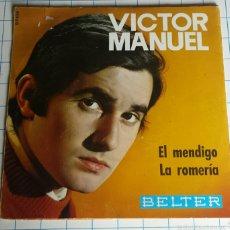 Discos de vinilo: VINILO. VICTOR MANUEL.. Lote 56976271