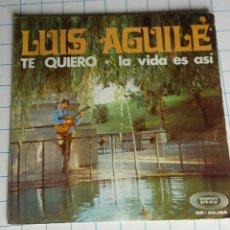 Discos de vinilo: VINILO.LUIS AGUILÉ.. Lote 56976337