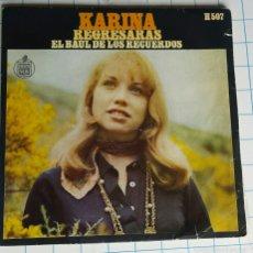 Discos de vinilo: VINILO. KARINA. EL BAÚL DE LOS RECUERDOS.. Lote 56976403