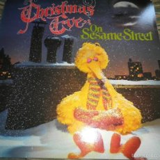 Discos de vinilo: CHRISTMAS EVE ON SESAME STREET LP - ORIGINAL CANADIENSE - S. STREET1980 - GATEFOLD COVER. Lote 56976428