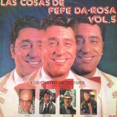 Discos de vinilo: PEPE DA-ROSA - LAS COSAS DE PEPE DA-ROSA, VOL. 5 . LP . 1976 RCA CAMDEM. Lote 56976969