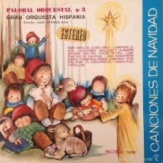 Discos de vinilo: GRAN ORQUESTA HISPANIA - PALOBAL ORQUESTAL Nº 3 - CANCIONES DE NAVIDAD . LP . 1968 PALOBAL . Lote 56977363