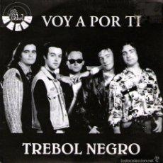 """Discos de vinilo: TRÉBOL NEGRO - SINGLE PROMO VINILO 7"""" - EDITADO EN ESPAÑA - VOY A POR TI - AG / NP 1992. Lote 56977872"""