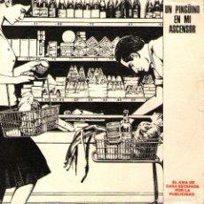 """Discos de vinilo: UN PINGÜINO EN MI ASCENSOR - SINGLE PROMO 7"""" - EL AMA DE CASA ESTAFADA POR LA PUBLICIDAD - DRO 1990. Lote 56977894"""