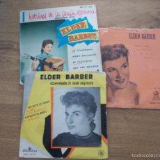 Discos de vinilo: ELDER BARBER. LOTE DE TRES EPS. Lote 56978107