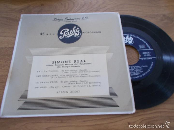 SIMONE REAL (Música - Discos de Vinilo - EPs - Funk, Soul y Black Music)