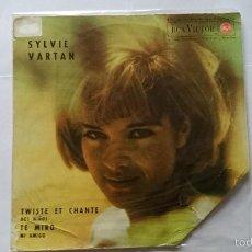 Discos de vinilo: SYLVIE VARTAN - TWISTE ET CHANTE / DEUX ENFANTS / I'M WATCHING / MON AMI (WHERE DO I GO) (EP 1963). Lote 56981154