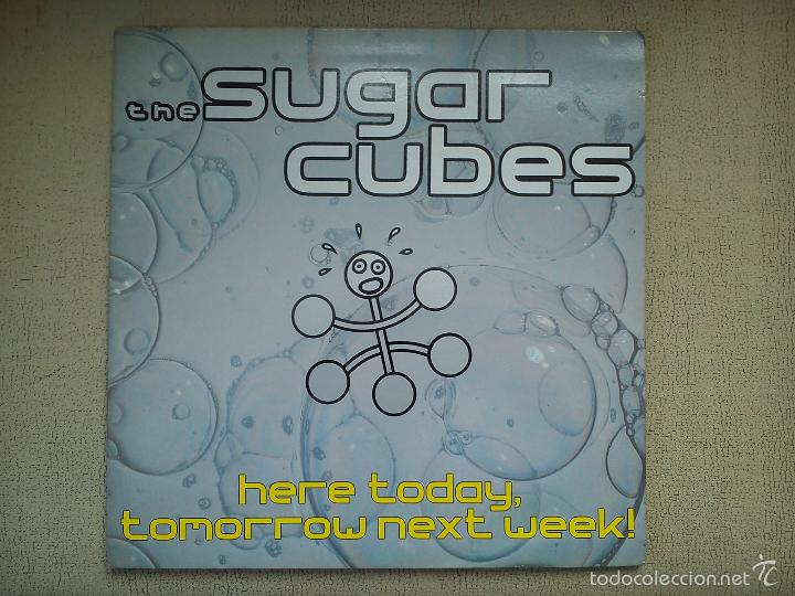 THE SUGAR CUBES -HERE TODAY, TOMORROW NEXT WEEK!- (1989) LP DISCO VINILO (Música - Discos de Vinilo - EPs - Pop - Rock - New Wave Extranjero de los 80)