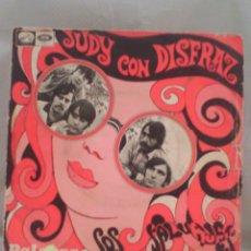 Disques de vinyle: LOS SALVAJES - JUDY CON DISFRAZ. Lote 56982210