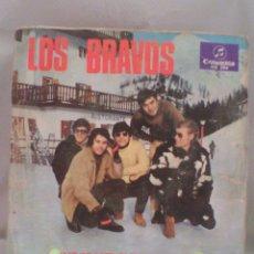 Discos de vinilo: SINGLE 7 LOS BRAVOS. Lote 56982286