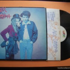 Discos de vinilo: ALEX Y CHRISTINA LP 1988 WEA MOVIDA POP ROSENVINGE ALEX DE LA NUEZ CON ENCARTE. Lote 56982534