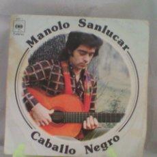 Discos de vinilo: MANOLO SANLUCAR ?– CABALLO NEGRO (ESPAÑA, 1975). Lote 56982869