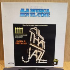 Discos de vinilo: B.S.O. !! EMPIEZA EL ESPECTÁCULO / LA MÚSICA EN EL CINE, Nº 18 / LUJO. ****/****. Lote 56986298