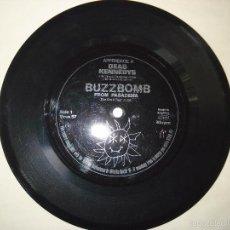 Discos de vinilo: DEAD KENNEDYS FLEXI DISCO: BUZZBOMB FROM PASADENA / NIGHT OF THE LIVING RED NECKS UK. Lote 56987402
