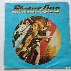 Dischi in vinile: STATUS QUO - ROCK N ROLL / LIES (1981). Lote 56987655