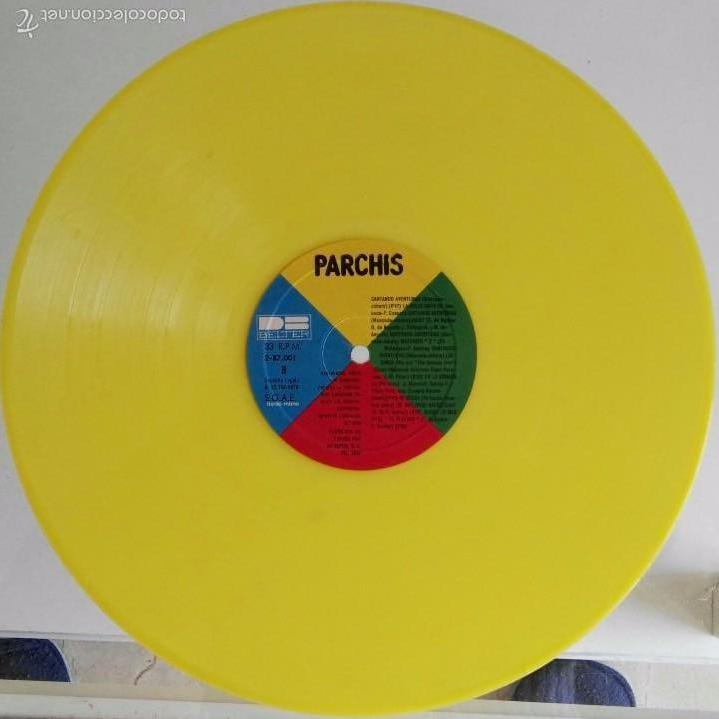 DISCO DE PARCHIS CON FUNDA DE ENRIQUE Y ANA (Música - Discos de Vinilo - Maxi Singles - Música Infantil)