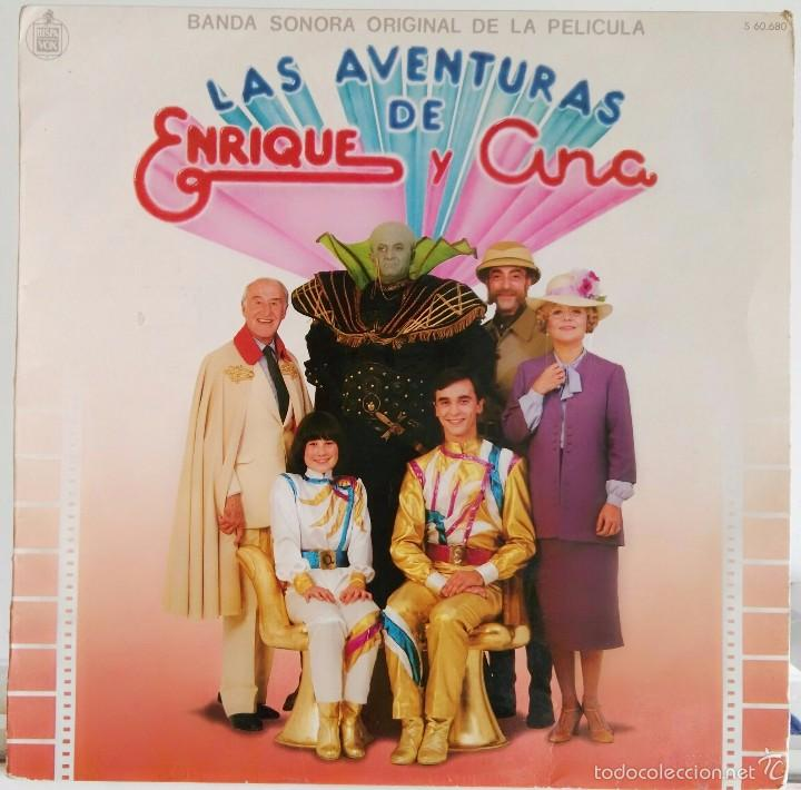 Discos de vinilo: Disco de Parchis con funda de Enrique y Ana - Foto 2 - 219465043