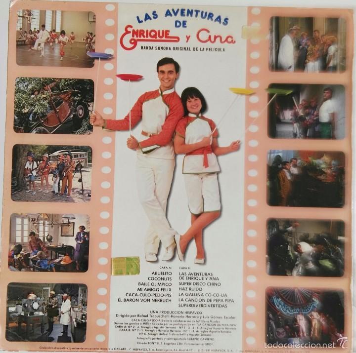 Discos de vinilo: Disco de Parchis con funda de Enrique y Ana - Foto 3 - 219465043