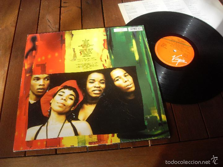 Discos de vinilo: ZIGGY MARLEY LP Jahmekya Made in Spain 1991 - Foto 2 - 56989617