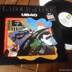 Discos de vinilo: UB40 LP LABOUR OF LOVE MADE IN SPAIN 1984. Lote 56989674