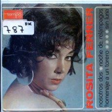 Discos de vinilo: ROSITA FERRER / NOSOTROS DOS / SIN LUNA + 2 (EP PROMO 1968). Lote 103915288