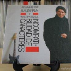 Discos de vinilo: JOAQUIN SABINA -SG- INCOMPATIBILIDAD DE CARACTERES 80'S SPAIN PROMO . Lote 56991879