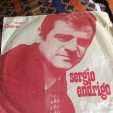 Discos de vinilo: SERGIO ENDRIGO-L'ARCA DI NOE-FESTIVAL SAN REMO 1970. Lote 56992552