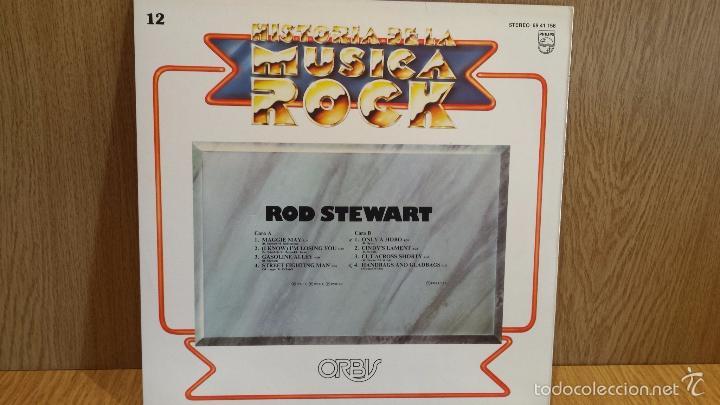 Discos de vinilo: ROD STEWART. HISTORIA DE LA MÚSICA ROCK. Nº 12 / CALIDAD LUJO. ****/**** - Foto 2 - 56994499