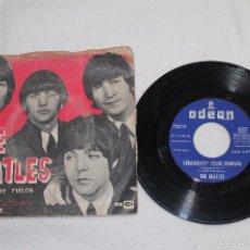 Discos de vinilo: THE BEATLES SINGLE STRAWBERRY FIELDS FOREVER - PENNY LANE ODEON - EMI 1967. Lote 56994640
