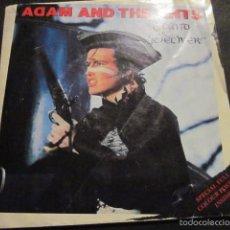 Discos de vinilo: ADAM AND THE ANTS - STAND & DELIVER - SG - PORTADA POSTER - EDICION INGLESA DEL AÑO 1981.. Lote 56995785