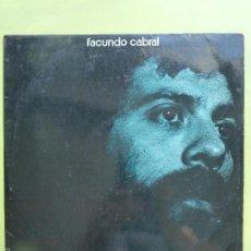 Discos de vinilo: FACUNDO CABRAL. AÑO 1972. RCA VICTOR LP VINILO. Lote 57001576