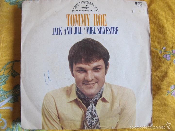 TOMMY ROE - JACK AND JILL / MIEL SILVESTRE (SINGLE ESPAÑOL DE 1969) (Música - Discos - Singles Vinilo - Pop - Rock - Extranjero de los 70)