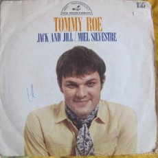 Discos de vinilo: TOMMY ROE - JACK AND JILL / MIEL SILVESTRE (SINGLE ESPAÑOL DE 1969). Lote 57010212