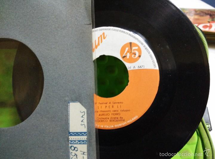 AURELIO FIERRO SG PARTIR CON TE+ LO PER LO 9* FESTIVAL SANO REMO (Música - Discos de Vinilo - EPs - Canción Francesa e Italiana)