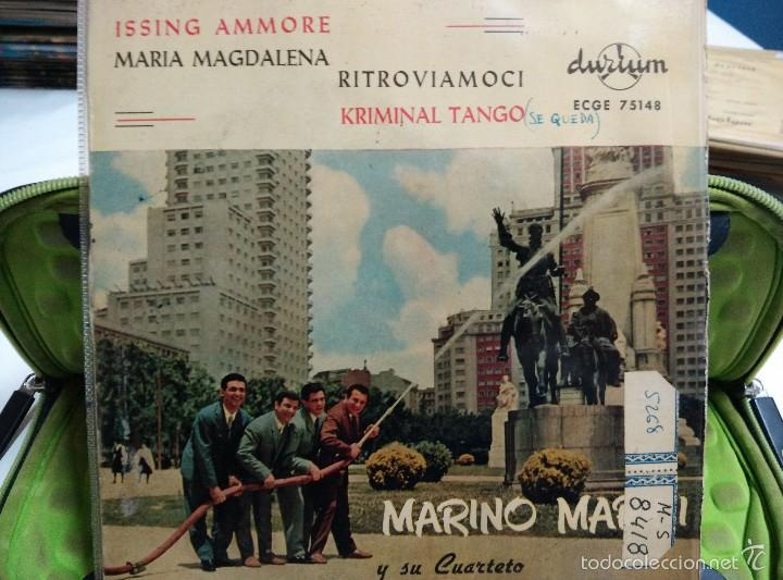 MARINO MARINI EP RITROVIAMOCI (Música - Discos de Vinilo - EPs - Canción Francesa e Italiana)