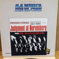 Discos de vinilo: JUDGMENT AT NUREMBERG. LA MÚSICA EN EL CINE. Nº 39 / BUENA CALIDAD. ***/***. Lote 57013881