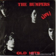 Discos de vinilo: THE BUMPERS, LIVE! : HIP CATS + CAROL+ DOWN THE ROAD TO APICE + AROUND & AROUND. Lote 57020703