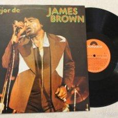 Discos de vinilo: JAMES BROWN LO MEJOR DE JAMES BROWN LP VINILO MADE IN SPAIN 1975. Lote 57025391
