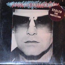 Discos de vinilo: DISCO LP VINILO *ELTON JOHN -VICTIM OF LOVE-*. Lote 57032057