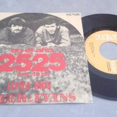 Discos de vinilo: ZAGER & EVANS - IN THE YEAR 2525 SINGLE 45 R.P.M.. Lote 57037141