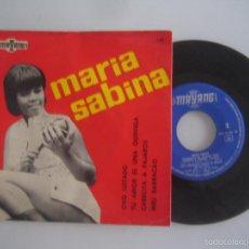 Discos de vinilo: MARIA SABINA MUY RARO EP VINILO ESPAÑOL DISCOS MAYANG 1967. Lote 57037154