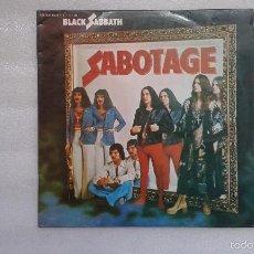 Discos de vinilo: BLACK SABBATH - SABOTAGE LP 1975 EDICION ESPAÑOLA. Lote 57040521