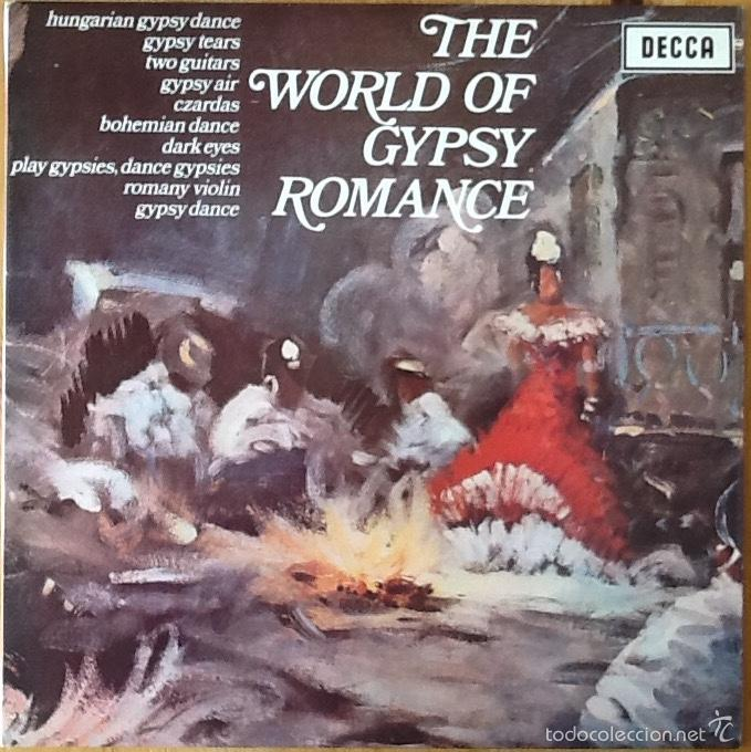LASZLO TABOR & HIS ORCHESTRA : THE WORLD OF GYPSY ROMANCE [UK 1967] (Música - Discos - LP Vinilo - Orquestas)