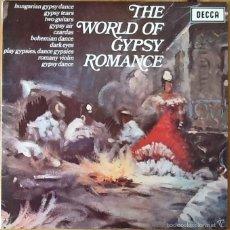 Discos de vinilo: LASZLO TABOR & HIS ORCHESTRA : THE WORLD OF GYPSY ROMANCE [UK 1967]. Lote 57041476