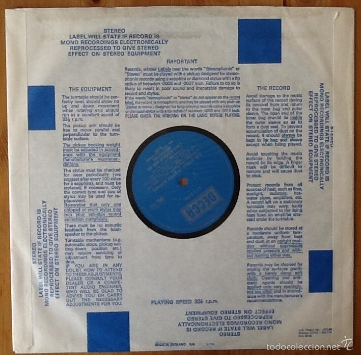 Discos de vinilo: LASZLO TABOR & HIS ORCHESTRA : THE WORLD OF GYPSY ROMANCE [UK 1967] - Foto 3 - 57041476