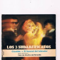 Discos de vinilo: DISCO VINILO LOS 3 SUDAMERICANOS ROY ETZEL EDICIÓN CAJA DE AHORROS DEL PENEDÉS BELTER. Lote 57041775