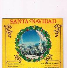 Discos de vinilo: DISCO VINILO SANTA NAVIDAD EDICIÓN ESPECIAL PARA LA CAJA DE AHORROS DEL PENEDÉS BELTER. Lote 57041881