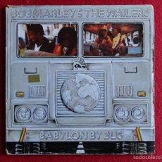 Discos de vinilo: BOB MARLEY & THE WAILERS - BABYLON BY BUS // 2 LPS // 1978 // SPAIN. Lote 57042278