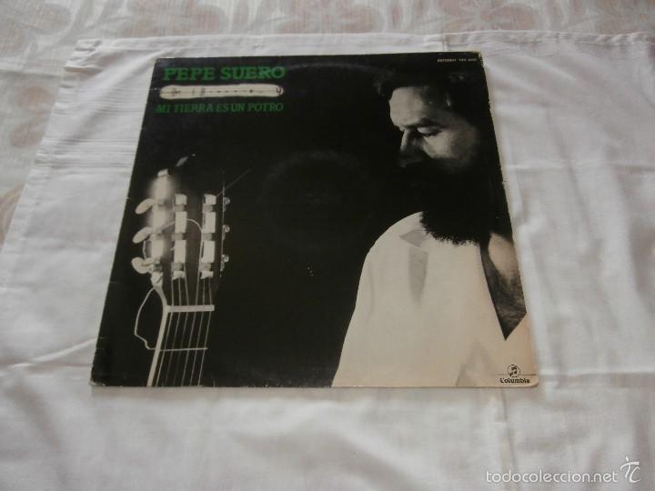 PEPE SUERO LP MI TIERRA ES UN POTRO (1982) *FLAMENCO PROGRESIVO* EN BUEN ESTADO -MUY RARO- (Música - Discos - LP Vinilo - Cantautores Españoles)