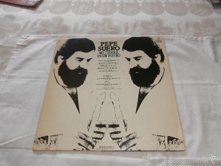 Discos de vinilo: PEPE SUERO LP MI TIERRA ES UN POTRO (1982) *FLAMENCO PROGRESIVO* EN BUEN ESTADO -MUY RARO- - Foto 2 - 57042864
